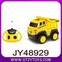 Newly cartoon RC construction toy trucks