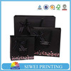 2015 Custom New Design Recycled empty Decorative valentine paper bags for clothes packaging recycle with hot stamping logo