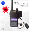 VK-M6 5W VHF/UHF dual band two way radio Walkie Talkie with bluetooth optional