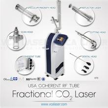 Skin Renewing rf tube co2 laser scanner
