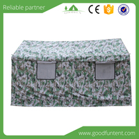 waterproof and windproof for refugee large army camping emergency tents shelters