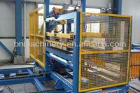 PU/EPS/Rock wool sandwich panel cutting machine