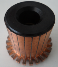 manufacture high quality copper slot commutator wtih bush factory price