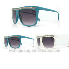 Fashion sunglasses with stones , china wholesale glasses sun