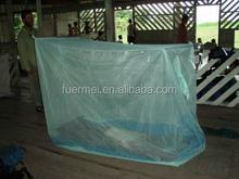 100% poliéster de longa duração tratadas com insecticida mosquiteiro