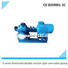 S series horizontal double suction split case water pump