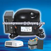 Walk-In cooler/Freezer condenser and evaporator systems with 12v 24v solar refrigetor fridge freezer compressor