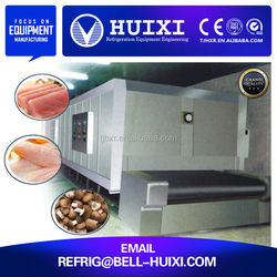 Net belt iqf cold room batch freezer for sale