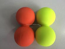 Peanut lacrosse ball