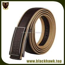 Top Quality Factory Price Professional men's canvas belt with interchangeable buckle