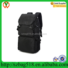 Laptop computer backpack with handle and back belts pictures