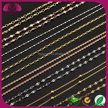 Chain Manufacturers Wholesale Gold Link Chain Rhinestone Long Chain