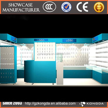 ODM manufacturers staringcosmetic display,eyebrow threading kiosk in mall
