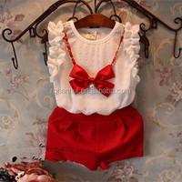 Girls clothing set girls suits cartoon children' clothing kids suits retail children clothing set High quality