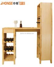 C5506 HOT SALE solid wood morden wine cabinet bar cabinet