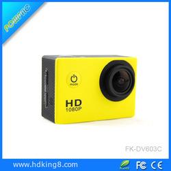 USA hot seller Sj4000 sport action camera hd1080p selfie stick