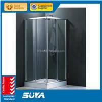 Bathroom use high quality 6mm glass shower room