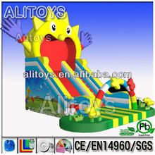 2015 new design inflatable slide ,inflatable bouncer slide ,slide inflatable