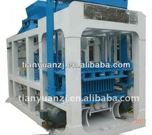 2013 NEW QT10-15 fully automatic fly ash brick making machine