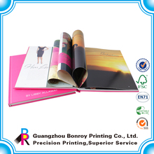 Beauty Look A4 Hardcover High Quality cheap photo book printing