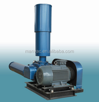 Oxygen making farm and pond use 0.7kw-110kw high pressure electric three lobes roots blowers