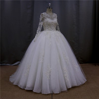OEM serveice real pictures key hole back new model 2014 wedding dress