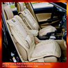 Winter Car Leather Seat Cover Model Car Mesh Seat Back Support for Universal PVC Seat Cover
