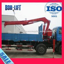 Ventas calientes hidráulicas 5 toneladas mini grúa camión fabricado en China SQ5ZA2