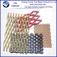 Expanded metal coil and cut part/PVC Coated Expanded Metal Mesh/Decorative aluminum diamond plate sheets