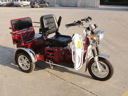 2015 hot sale 110CC handicapped tricycle/cheap china motorcycle/air-cooling disc brake trike