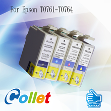 china wholesale T0761 T0762 T0763 T0764 for epson ink cartridge
