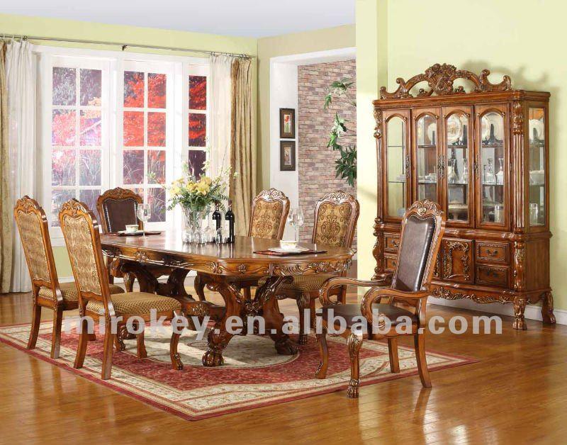 Moveis Para Sala De Jantar Antigos ~ sala de jantar móveis antigos conjuntoincluem hutchbuffet, mesa de