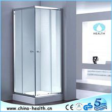 Polished/Brushed/Sandy/Matted Silver frame shower enclosure