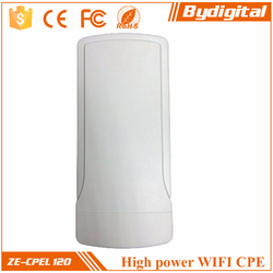 300mbps high power 5km long range outdoor network bridge for wifi hotspot
