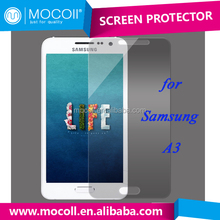 cheap price phone accessories free sample 0.33mm 9H Tempered Glass Screen Protector For Samsung A3 A4 A5 tempered glass guard