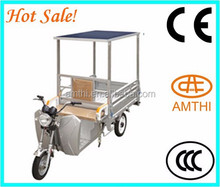Electric Rickshaw With Solar Panel,High Quality Solar Electric Tricycle,Battery Operated Tricycle,Amthi
