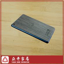 Wholesale tablet phone back cover pastes black walnut