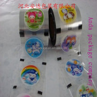 PP/PE/PET bubble tea packing film/cup sealing film