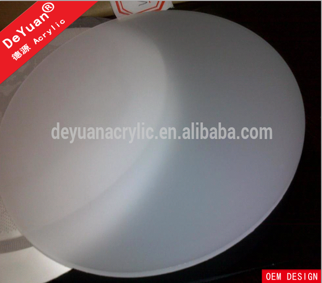 Milk white round shape  pmma  acrylic diffuser sheet wholesale (3).png