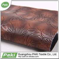 whole stock pu synthetic leather for sofa pu leather