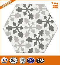 New trends black and white bathroom ceramic flooring tile
