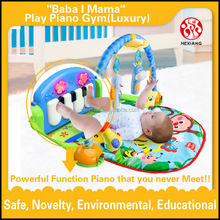Best selling soft plush baby play mat with sides Factory supply with AZO ROHS 6P EN71 HX9105