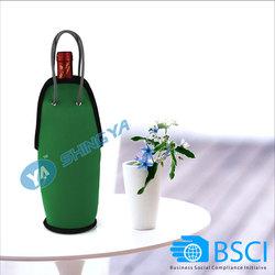 neoprene fabric cooler bag/bottle cooler bag/neoprene bag