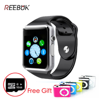 A1 V8 Q8 Colorful Smart Watch for Apple iPhone Android Phone BT 4.0 China Wholesale