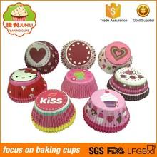 Made Of Food Grade Material Circular Paper Cake Cup Paper Cupcake