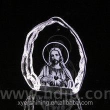 Xyer good quality 3d laser engrave K9 crystal trophy award souvenirs