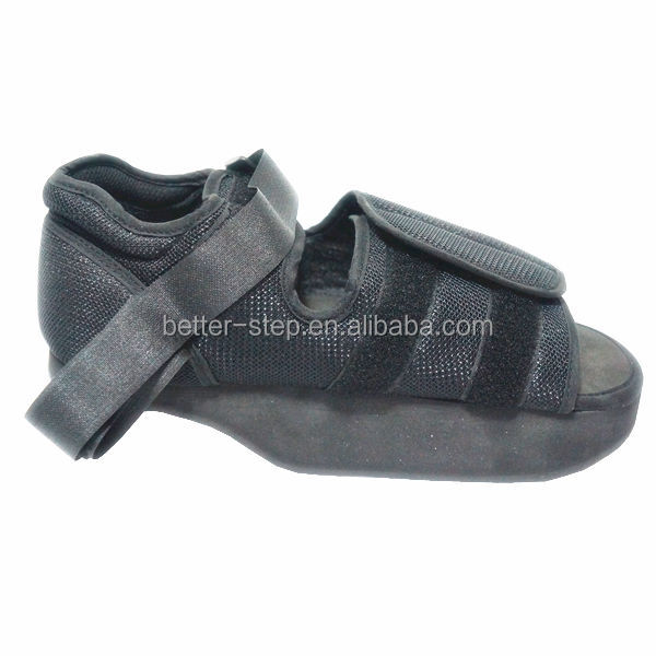 heel wedge loading orthopedic shoes for