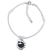 2015 Best Selling Ali Express Trendy Simple Design Moon Shaped State Jewelry Bracelet