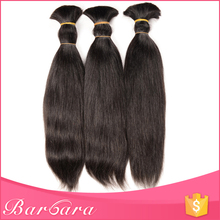 European Human Wet And Wavy Fashion 2015 Wholesale Brazilian Bulk Hair Extensions Without Weft For Wig Making Braiding