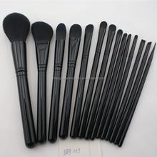 Eco friendly cosmetic make up brushes 14pcs